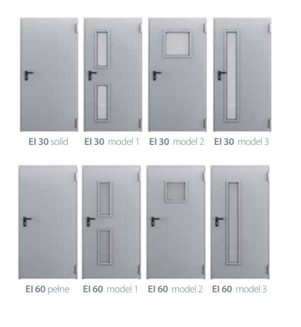 EI 30  Ugunsdrošās durvis