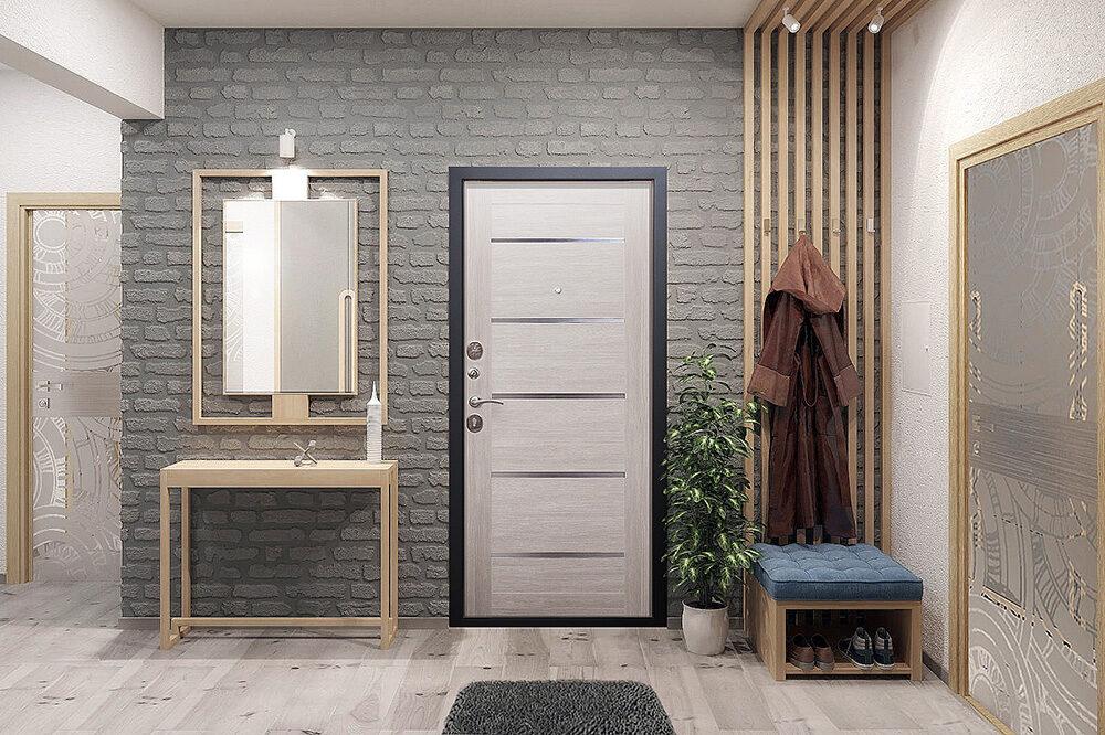 Metāla durvis mājai/ dzīvoklim GARDA MYAR ar stiklu