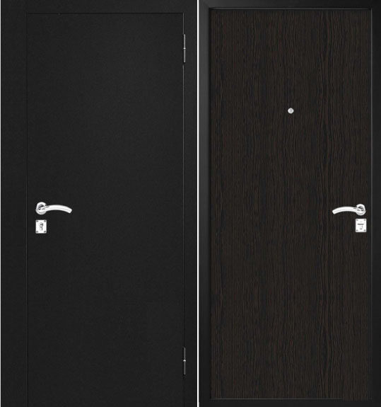 Metāla durvis dzīvoklim M90