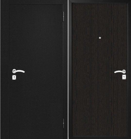 Metāla durvis mājai M90
