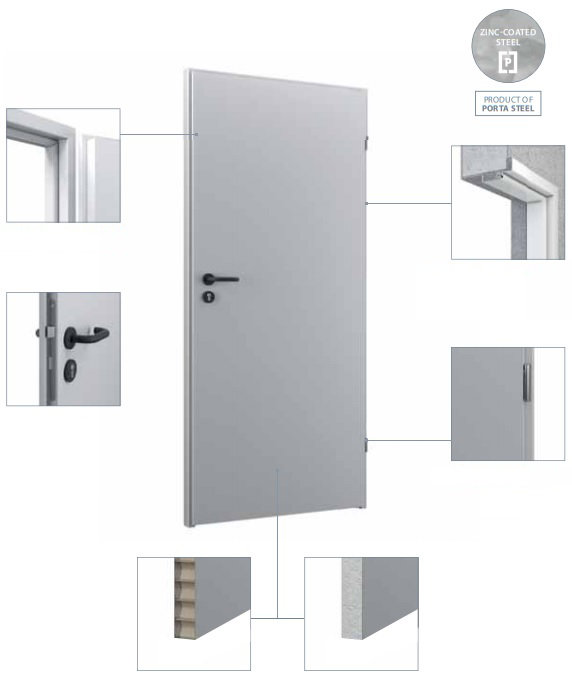 Metāla durvis BASIC