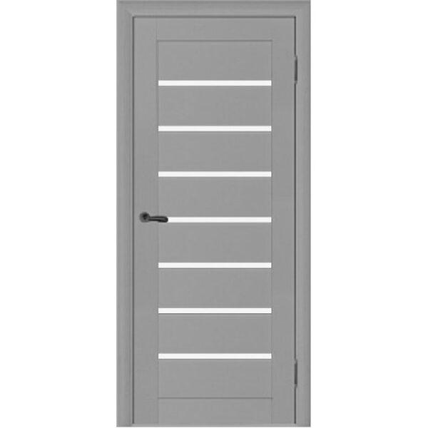 Finierētas durvis OMEGA ar stiklu