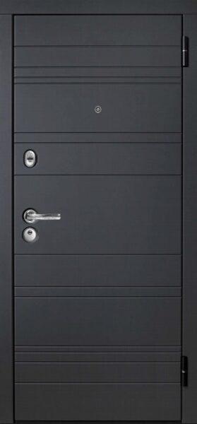 Metāla durvis mājai M700-7