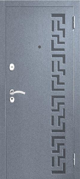 Metāla durvis mājai M202-2