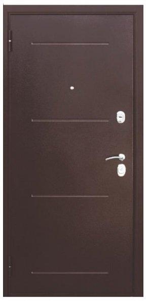 Metāla durvis mājai/ dzīvoklim GARDA 75 Wenge