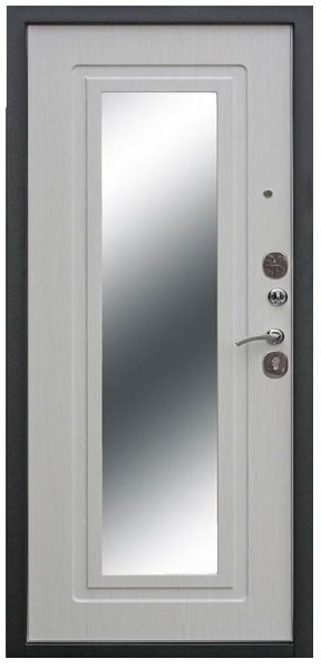 Metāla durvis dzīvoklim Karaliskais spogulis